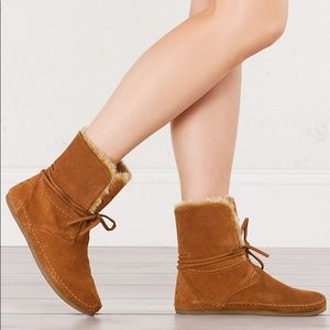 Toms Zahara Chestnut booties 8